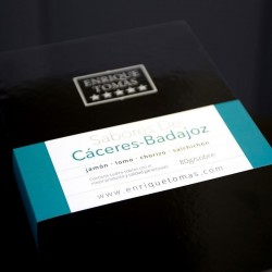 Schachtel mit 100% iberischem Aromen- Der aromatische Geschmack| Enrique Tomás ®