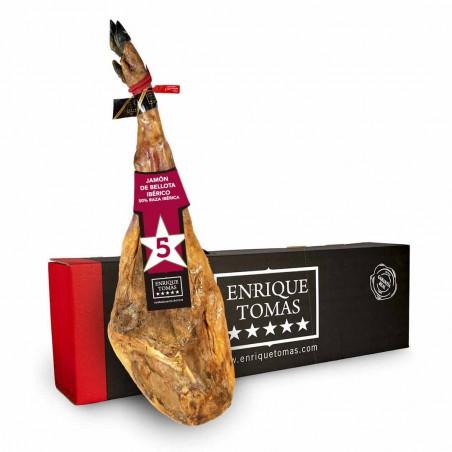 Iberischer 50% Eichelschinken - Milder Geschmack| Enrique Tomás ®