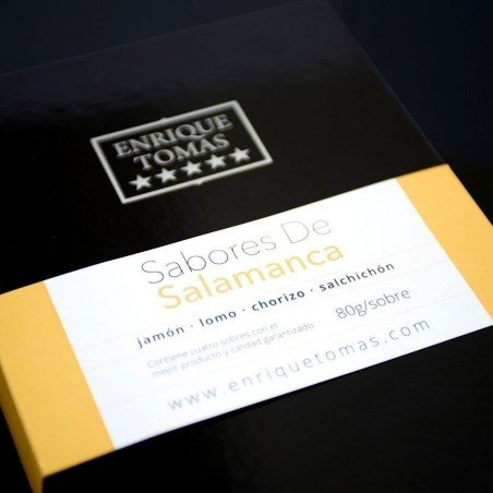 Box with Bellota 100% Iberian Flavours- Smooth flavour │ Enrique Tomás ®