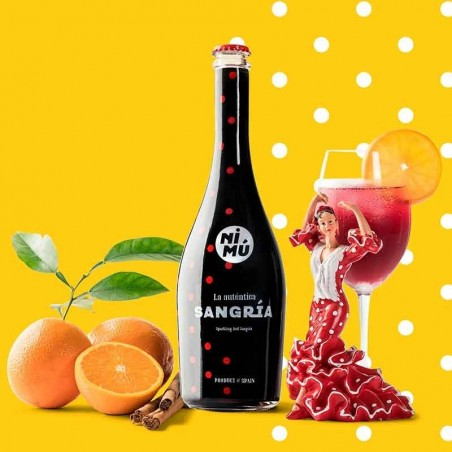 Classic Nimu Sangria - 750ml Bottle │ Enrique Tomás ®