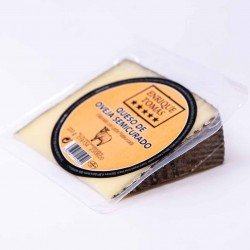 buy Semi-cured manchego sheep cheese wedge