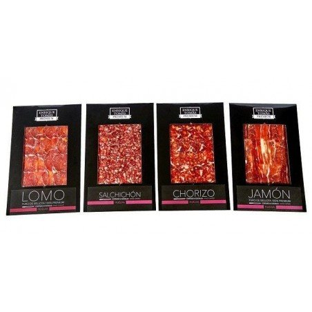 Box with 100% iberian flavours - Intense flavour │ Enrique Tomás ®