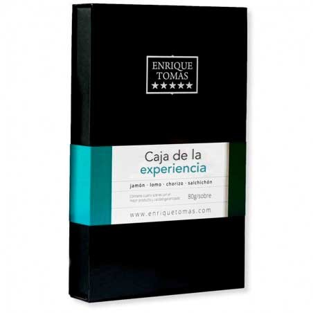 Caja de Sabores de Bellota 100% Ibéricos - Sabor aromático | Enrique Tomás ®