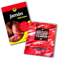 comprar Dos Libros| JAMÓN PARA DUMMIES + Grandes Mentiras sobre el Jamón