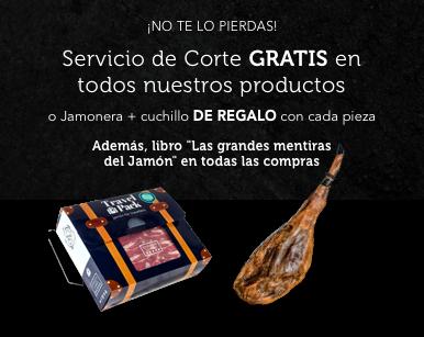 Jamonera + Cuchillo de REGALO | Servicio de Corte GRATIS