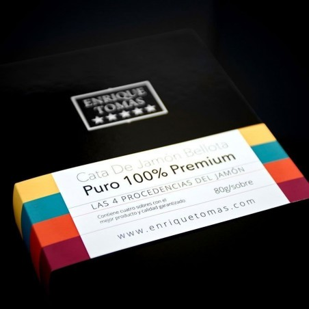 Scatola Degustazione di Prosciutto 100 % Ibérico │ Enrique Tomás ®