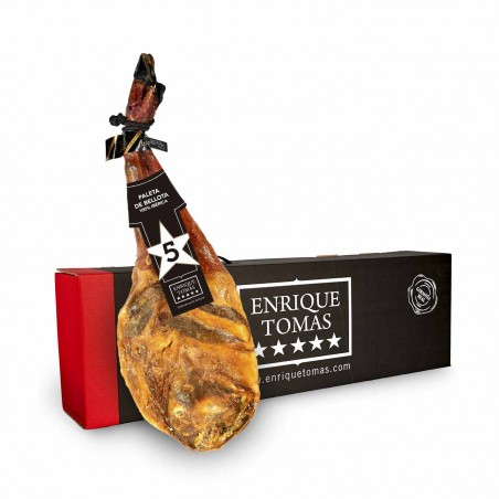 Bellota 100% Iberico Ham Shoulder - Aromatic flavour │ Enrique Tomás ®